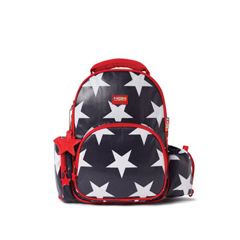 Penny Scallan Backpack Medium Navy Star