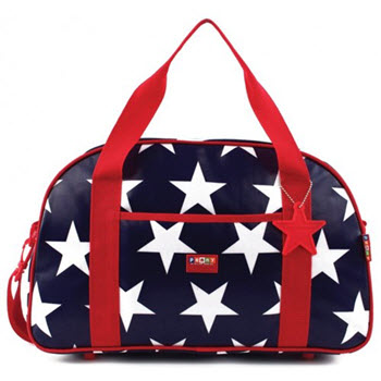 Penny Scallan Sleepover Bag Navy Star