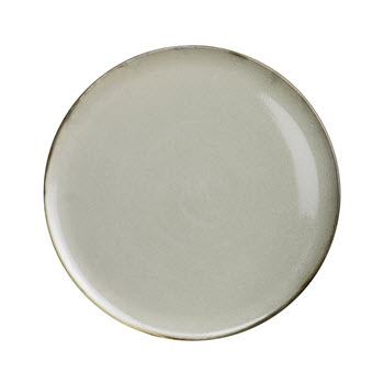 Robert Gordon Canvas Stoneware Dinner Plate 28cm Saltbush