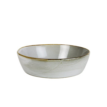 Robert Gordon Canvas Stoneware Bowl 18cm Saltbush