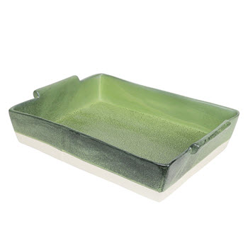 Robert Gordon Feast Stoneware Rectangular Baker 36cm Selby Green