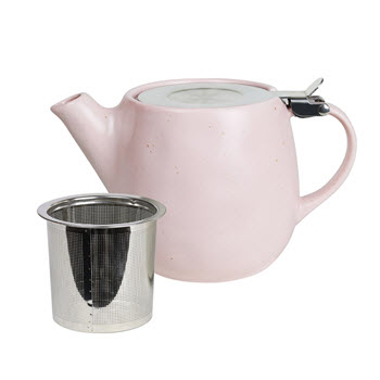Robert Gordon Earth Porcelain Teapot 500ml Pink