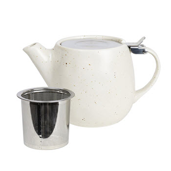 Robert Gordon Earth Porcelain Teapot 500ml Natural