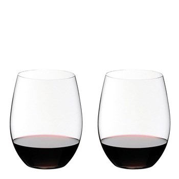 Riedel O 2-Piece Crystal Cabernet/Merlot Stemless Wine Glass Set 600ml