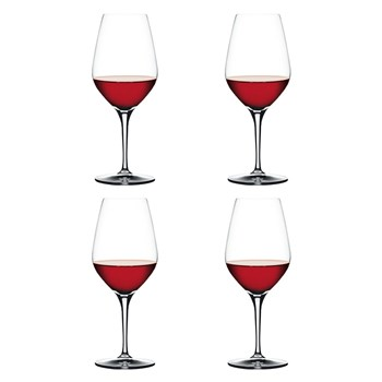 Spiegelau Authentis 4 Piece Crystal Red Wine Glass Set 480ml