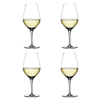 Spiegelau Authentis 4 Piece Crystal White Wine Glass Set 420ml
