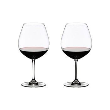 Riedel Vinum 2-Piece Crystal Pinot Noir Glass Set 700ml