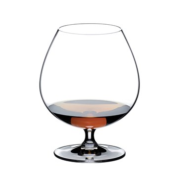 Riedel Vinum 2-Piece Crystal Brandy Glass Set 840ml