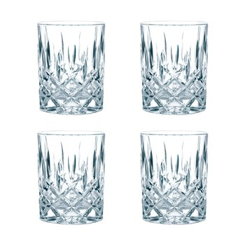 Nachtmann Noblesse 4-Piece Crystal Whisky Tumbler Set 295ml