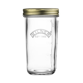 Kilner Wide Mouth Preserve Jar 500ml