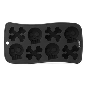 Avanti Silicone Skull and Crossbones Ice Mould Tray