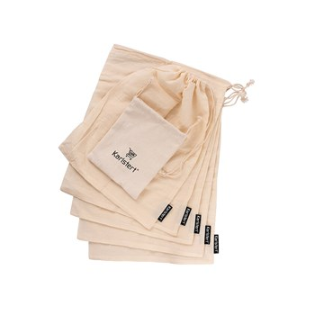 Karlstert Cotton Produce Bags Set of 5