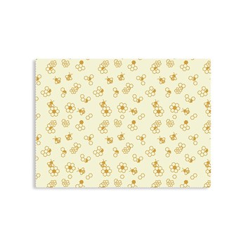 Karlstert Natural Beeswax Food Wrap 43cm x 58.5cm Baguette