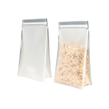 Avanti Reusable Vinyl Tall Snack Bag 1.5L Set of 2