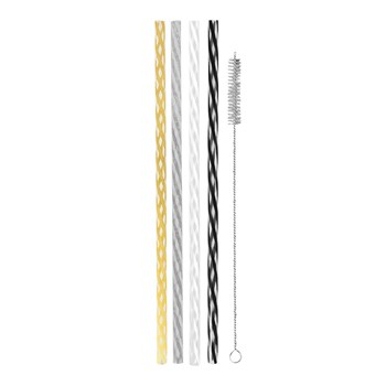 Avanti Reusable Straws Set of 24 Celebration