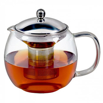 Avanti Ceylon Glass Teapot with Infuser 1.25L