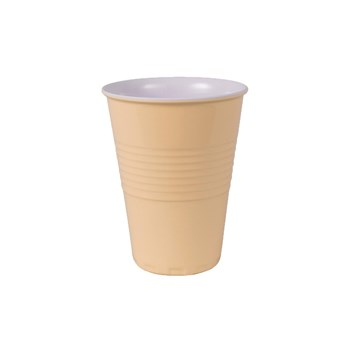 Serroni Miami Melamine Single Tone Cup 400ml Buttercup Yellow