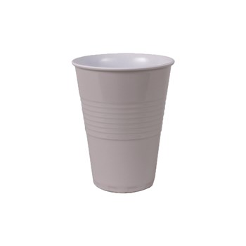 Serroni Miami Melamine Two Tone Cup Dusty Grey