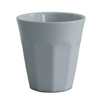 Serroni Café Melamine Single Tone Cup 260ml White