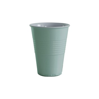 Serroni Miami Melamine Single Tone Cup 400ml Duck Egg Blue