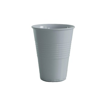 Serroni Miami Melamine Single Tone Cup 400ml White