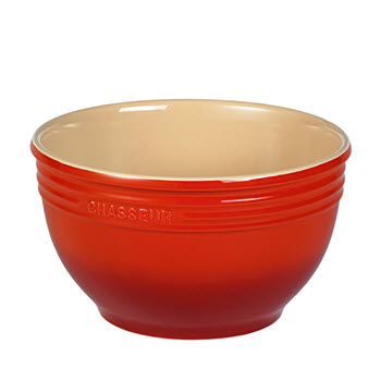 Chasseur 3.5L Mixing Bowl Red
