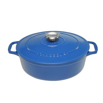 Chasseur 27cm/3.6L Oval French Oven Sky Blue
