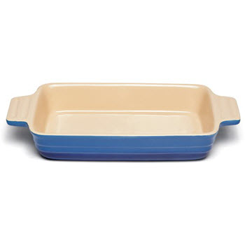 Chasseur La Cuisson 32 x 24 x 6cm Large Rectangular Baker Blue