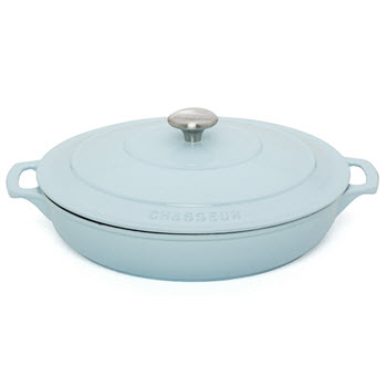 Chasseur 30cm/2.5L Round French Oven Duck Egg Blue