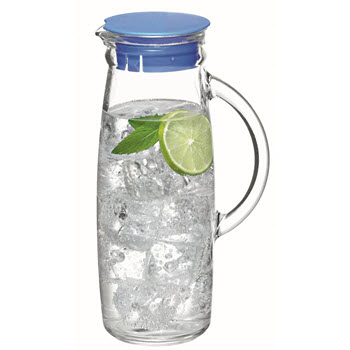 Glasslock 1L Water Jug with Lid