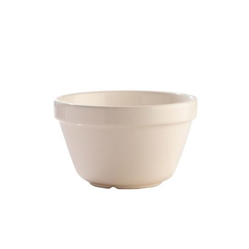 Mason Cash Earthenware Pudding Basin 17cm/1L White