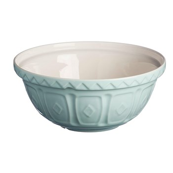 Mason Cash Colour Mix Earthenware Mixing Bowl 29cm/4L Powder Blue