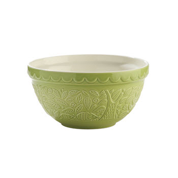 Mason Cash In The Forest Hedgehog Mixing Bowl 1L Green