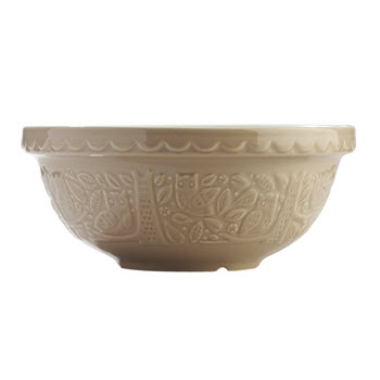 Mason Cash In The Forest Owl Mixing Bowl 2.7L Stone