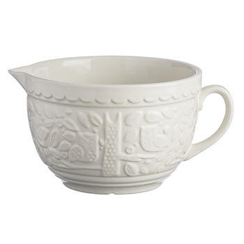 Mason Cash In The Forest Owl Batter Bowl 2L Cream
