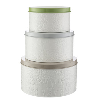Mason Cash In The Forest Cake Tin Set of 3 Multicolour