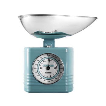 Typhoon Vintage Blue Summer House Scales