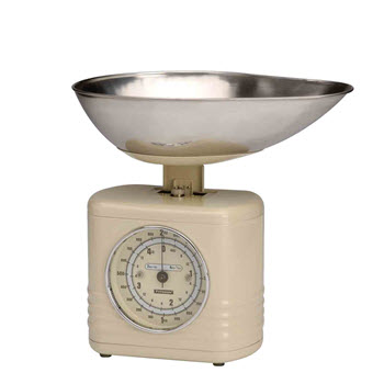 Typhoon Vintage Cream Summer House Scales