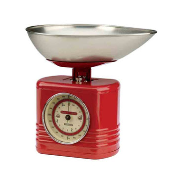 Typhoon Vintage Red Summer House Scales