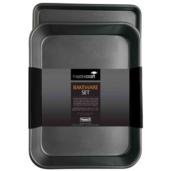 Mastercraft Non Stick Bakeware Twin Pack