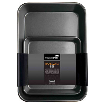 Mastercraft Non Stick Roast Pan Twin Pack