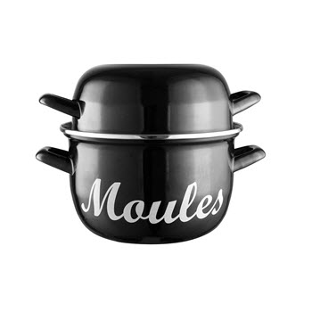 Avanti Moule Mussel Pot 18cm Black