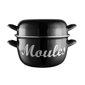 Avanti Moule Mussel Pot 24cm Black