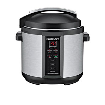 Cuisinart Electric 6L Pressure Cooker Plus