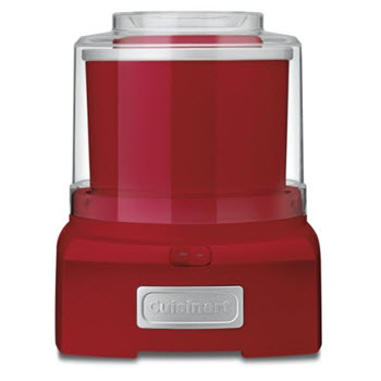 Cuisinart Ice Cream Maker Red