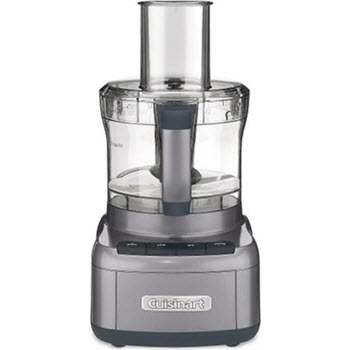 Cuisinart 8 Cup Food Processor Gun Metal Grey