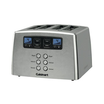 Cuisinart 4 Slice Motorised Toaster