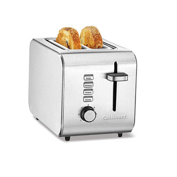 Cuisinart CPT-5A 2 Slice Toaster Stainless Steel