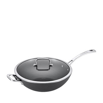 Cuisinart Chef iA+ 32cm Wok Hard Anodised