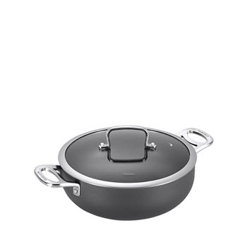 Cuisinart Chef iA+ 26cm Chef Pan Hard Anodised